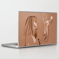 ursula Laptop & iPad Skins featuring Ursula by Elena Medero