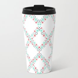 Flower cells Travel Mug