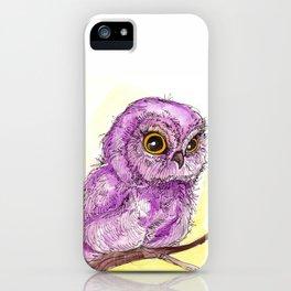 Purple Owlette iPhone Case
