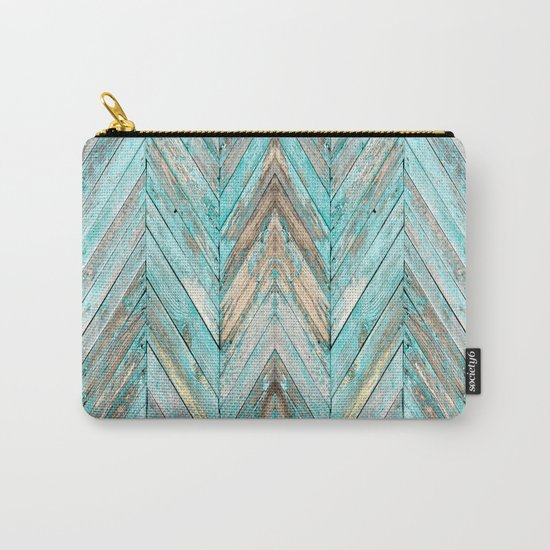 Wood Texture 1 Carry-All Pouch