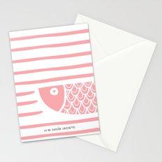 PIXE 2 (light pink) Stationery Cards