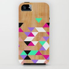 Geometric Pink Polygons iPhone (5, 5s) Tough Case