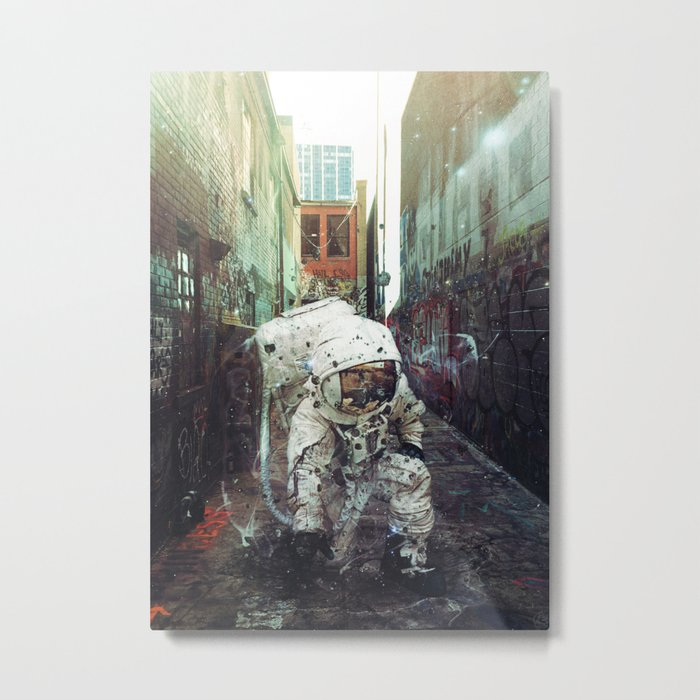 Alley Metal Print
