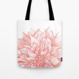 Dreamy Dahlia Tote Bag