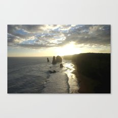 Dusk falls over the Great Southern Ocean Canvas Print