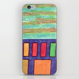 Building with colorful Windows iPhone Skin