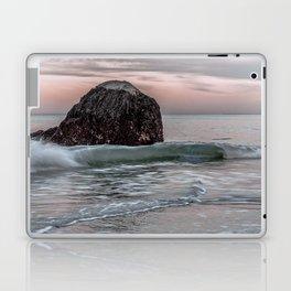 Wave at haystack in Rockport Laptop & iPad Skin