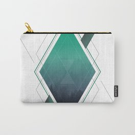 Abstract Diamond Carry-All Pouch