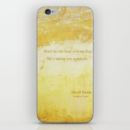Golden Years iPhone Skin