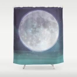 Hallowette Banner Shower Curtain