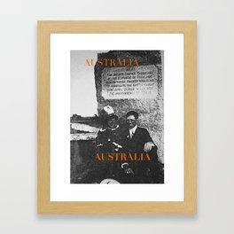 Ancestors, Cut-throats  Framed Art Print