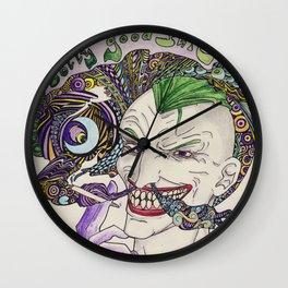 smoker toker joker Wall Clock