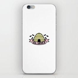Oh, Honey iPhone Skin