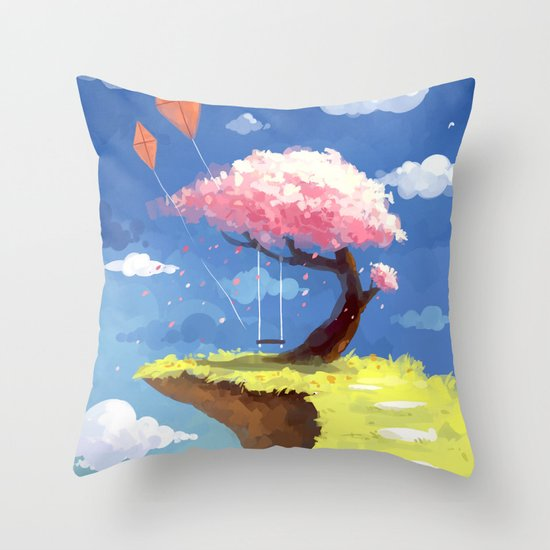 Secret Place Throw Pillow