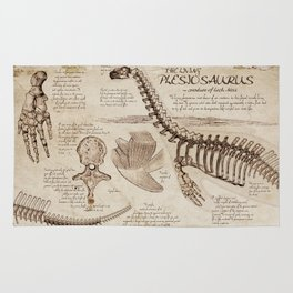 """Loch Ness Monster: """"The Living Plesiosaurus"""" - The lost notebook account Rug"""