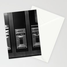 Mailboxes Black and White Original Photo Stationery Cards