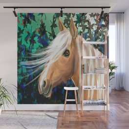 Pony Wall Mural
