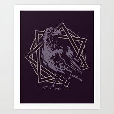 Three-Eyed Raven Art Print
