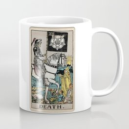 Death Tarot Card Coffee Mug