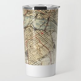 Vintage Map of Richmond Virginia (1934) Travel Mug