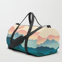 Wanderlust Gradient Mountain Duffle Bag