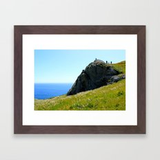 California Hillside Framed Art Print