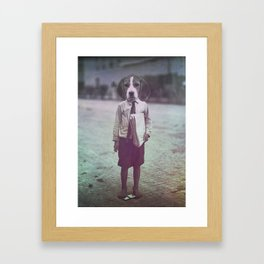 Beagle Boy Framed Art Print
