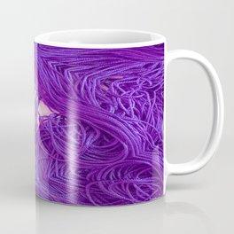 Purple Coils Coffee Mug