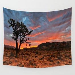 Joshua Tree Sunrise Wall Tapestry