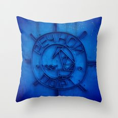River port Throw Pillow