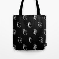 bombs away Tote Bags featuring Bombs Away by Michael Hewitt