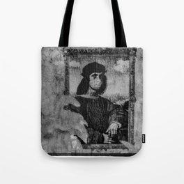 Renaissance Face Street Art Tote Bag