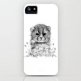 Baby Cheetah iPhone Case