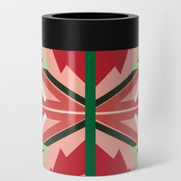 Holiday Pattern Can Cooler