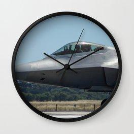 Avalon Airshow - F-22A Raptor Wall Clock