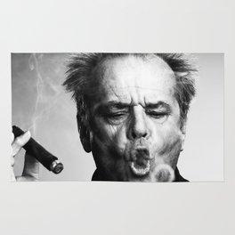 Jack Nicholson Cigar Rug