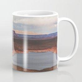 Cutting Through Lake Powell Coffee Mug