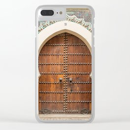 Doorways - Fes, Morocco Clear iPhone Case