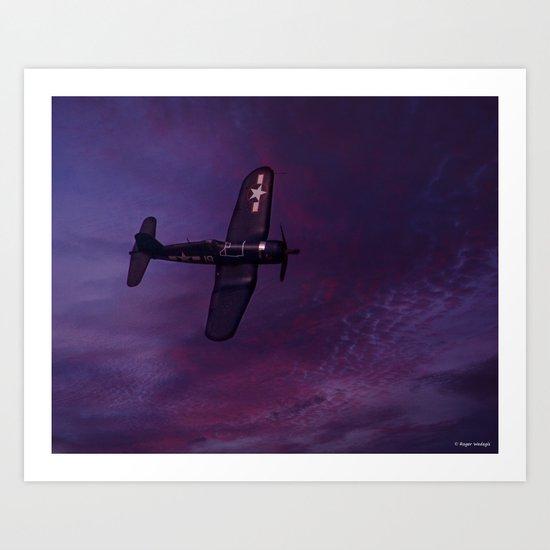 Corsair At Dawn Art Print
