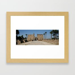 Temple of Luxor, no. 13 Framed Art Print