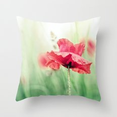 So terribly beautiful... Throw Pillow