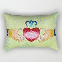 Colorful Inspirational Art - Friendship - Sharon Cummings Rectangular Pillow