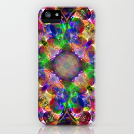 Floral Pastel Mandala iPhone Case