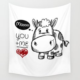 you+me Wall Tapestry