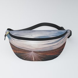 Driving Into The Sunset Fanny Pack