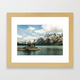 Lake Minnewanka Framed Art Print