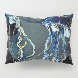 Metallic Ocean III Pillow Sham