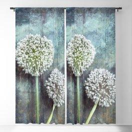 Allium Flowers Blackout Curtain