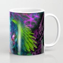 Evening Glory Vortex (totem, psychedelic, visionary) Coffee Mug