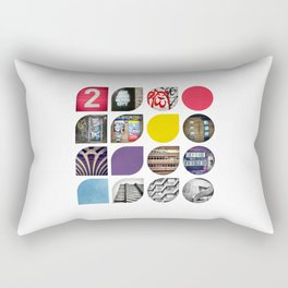 Cold Comfort Collage — The Streets Rectangular Pillow